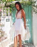חצאית לבנה