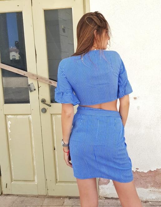 חליפת מעטפה כחול