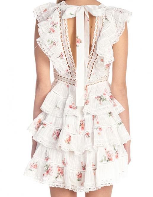 women-wearCotton-Printed-Volant-Dress-v-neckline (4)